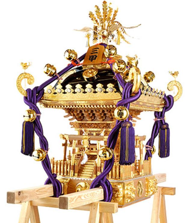mikoshi (Japanese portable shrine)