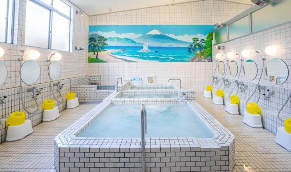 sento (Japanese public bath)