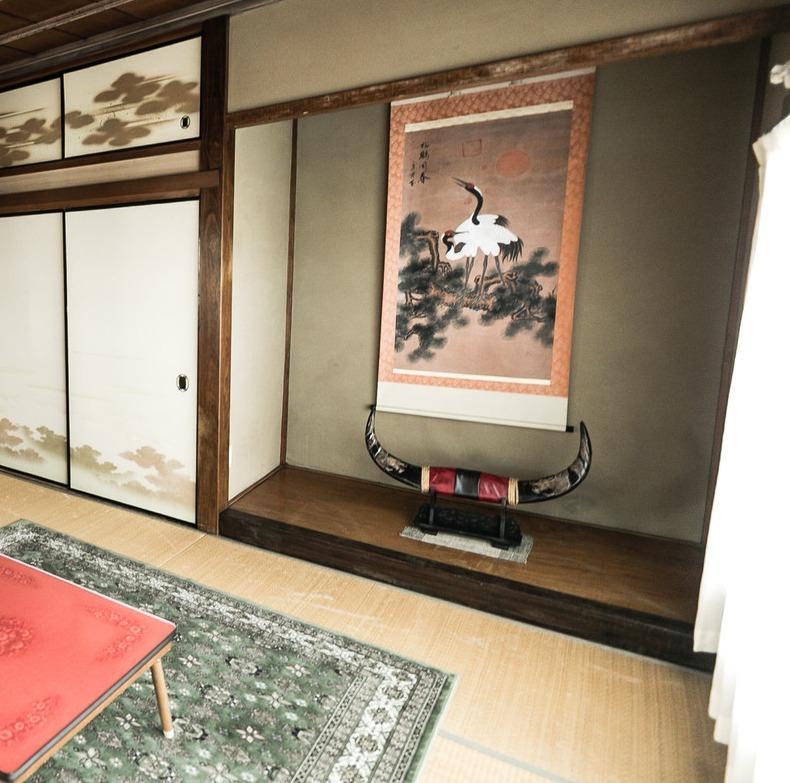 Japanese tokonoma