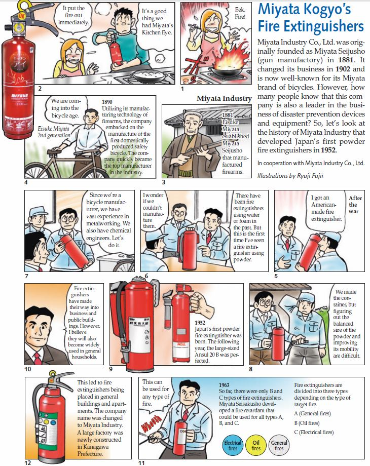 Miyata Fire Extinguisher(前半)