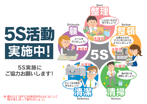 5S for non-Japanese workers
