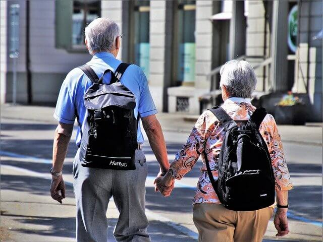 Japanese elderly going online