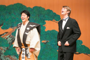 """Kyogen, the Longest Lasting Theatrical Performance in the World: """"It is a comedy with samurai spirits in its background"""""""