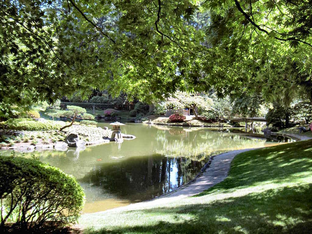 Nitobe Memorial Garden in Canada