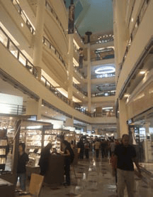 The Suria KLCC Shopping Mall inside Petronas Twin Towers, Kuala Lumpur