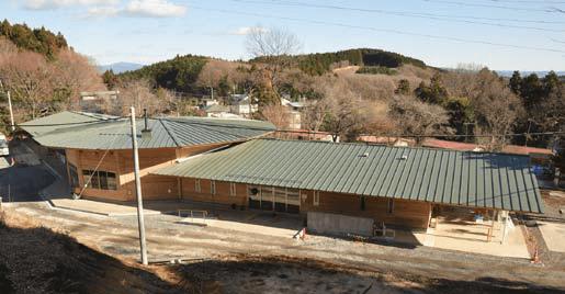 ARI's dinning hall and classroom compound
