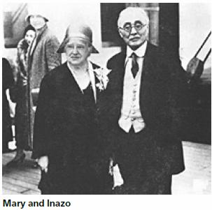 Mary and Nitobe Inazo