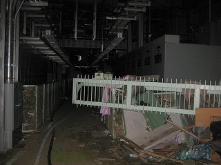 Electric power supply room of Unit 1 (on March 23, 2011)