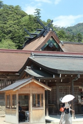 The main hall of Izumo Taisha