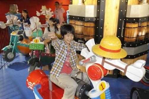 "The ""SHIRO MOKUBA"" Carousel  ©尾田栄一郎/集英社・フジテレビ・東映アニメーション"
