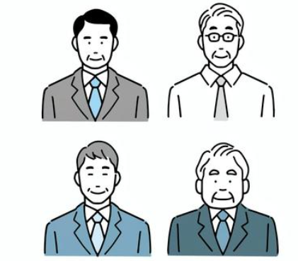 Usually in a Japanese company the older you get the higher your position becomes