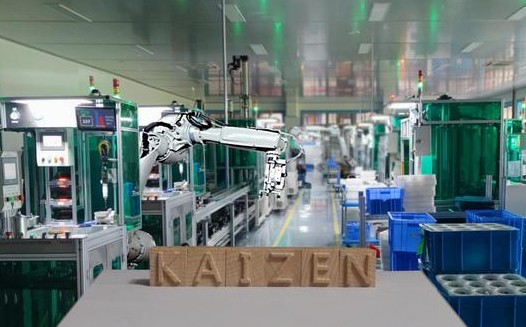 Kaizen is practiced mainly in a factory.