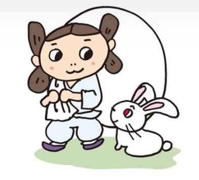 """Inaba no Shiro Usagi"" (White Rabbit of Inaba)"